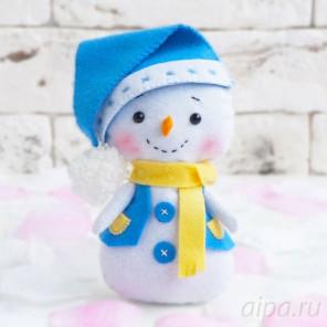 Снеговик Набор для создания игрушки своими руками 05-35