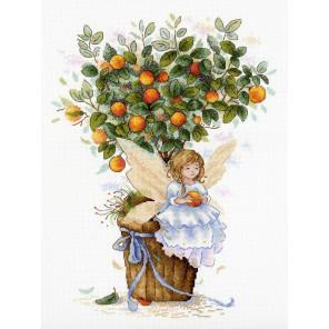 В рамке Апельсиновая фея Набор для вышивания МП Студия НВ-652
