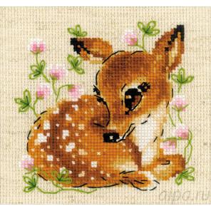 Маленький олень Набор для вышивания Риолис 1777