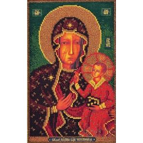 Ченстоховская Богородица Набор для вышивания бисером Кроше В-194