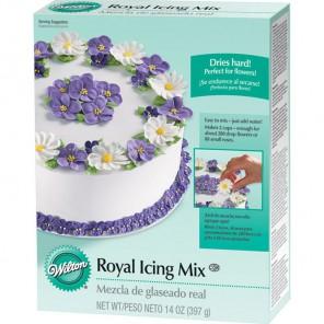 Королевский Айсинг сухой Сахарная глазурь белая Wilton ( Вилтон )