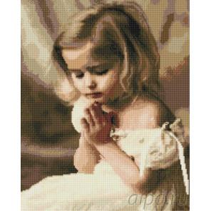 Детская молитва Алмазная мозаика вышивка Painting Diamond GF942