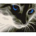 Призрачный котик Алмазная мозаика вышивка Painting Diamond GF533