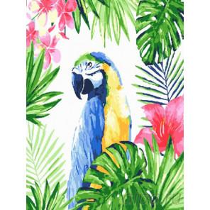 Тропический лес Раскраска картина по номерам на холсте EX6230