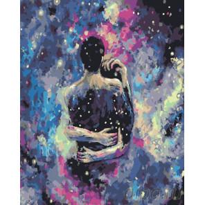 Космическая любовь Раскраска картина по номерам на холсте GX25853