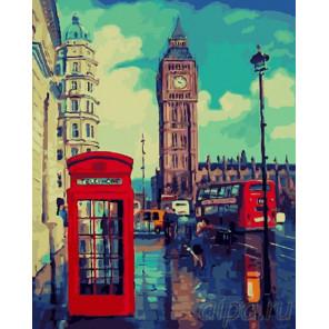 Лондонский Бин Бен Раскраска картина по номерам на холсте GX26616