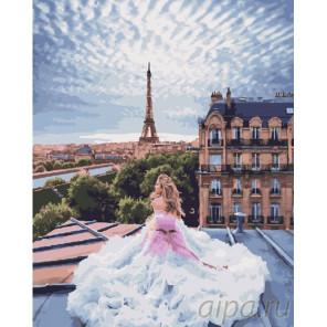 В пышном платье Раскраска картина по номерам на холсте GX25433