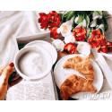 Завтрак с любовью Раскраска картина по номерам на холсте