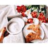Завтрак с любовью Раскраска картина по номерам на холсте GX26695