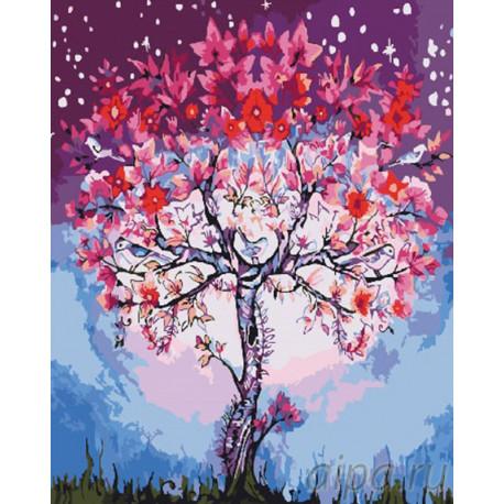 GX26711 Волшебное дерево Раскраска картина по номерам на ...