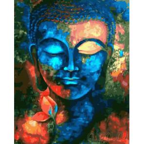 Будда Религиозный Раскраска картина по номерам на холсте GX26685