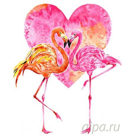 Это любовь! Раскраска картина по номерам на холсте GX26658
