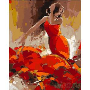 Незнакомка в красном Раскраска картина по номерам на холсте GX26937