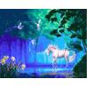 Волшебный единорог Раскраска картина по номерам на холсте GX26929