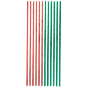 Красные и зеленые Бордюры для скрапбукинга, кардмейкинга Anitas
