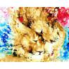 Обьятия львов Раскраска картина по номерам на холсте GX27010