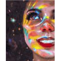 Белоснежная улыбка Раскраска картина по номерам на холсте