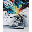 Всплеск чувств Алмазная картина-раскраска