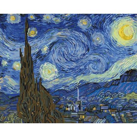GZS1001 Звездная ночь Алмазная картина-раскраска Paintboy ...