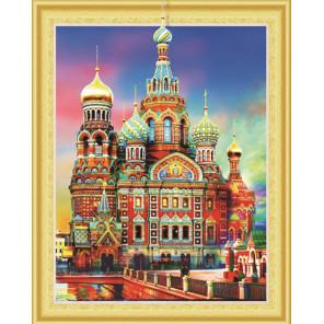Храм Спаса на Крови Алмазная вышивка мозаика 5D