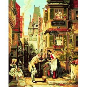 Вечный жених ( репродукция Карл Шпицвег) Раскраска по номерам Schipper (Германия)