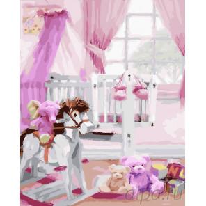 Комната малыша Раскраска картина по номерам на холсте GX25497