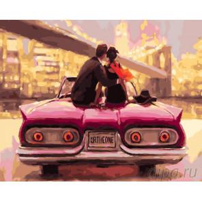 Романтика городских огней Раскраска картина по номерам на холсте GX26565