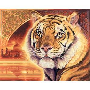Тигр Раскраска по номерам Schipper (Германия)