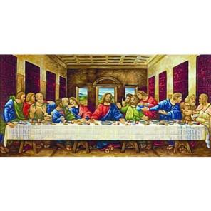 Тайная вечеря ( репродукция Леонардо да Винчи) Раскраска по номерам акриловыми красками Schipper (Германия)