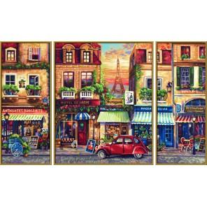 Париж Триптих Раскраска по номерам Schipper (Германия)