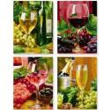 Вино Раскраски по номерам акриловыми красками Schipper (Германия)