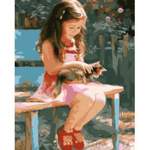 Беззаботное детство Раскраска картина по номерам на холсте