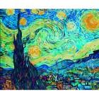 Звездная ночь ( репродукция Ван Гог) Раскраска по номерам акриловыми красками Schipper (Германия)