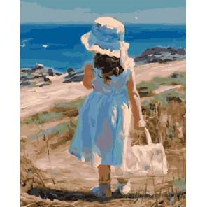 Знакомство с морем Раскраска картина по номерам на холсте GX7606