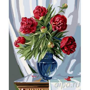 Торжественный букет пионов Раскраска картина по номерам на холсте GX7839