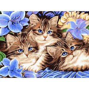 Веселая семейка Раскраска картина по номерам на холсте EX5689