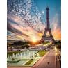 Эйфелева Башня Алмазная вышивка мозаика на подрамнике GF2805