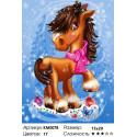 В преддверии Рождества Алмазная частичная вышивка (мозаика) Molly