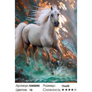 Количество цветов и сложность Стремительный Алмазная частичная вышивка (мозаика) Molly KM0050