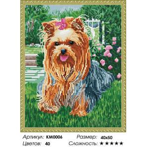 Количество цветов и сложность Милашка Алмазная мозаика вышивка на подрамнике Molly KM0006