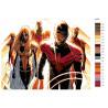 Раскладка Отряд героев Раскраска по номерам на холсте Живопись по номерам ARTH-AH73V