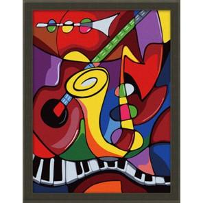 Мир музыки 30х40 Раскраска по номерам акриловыми красками на холсте Hobbart