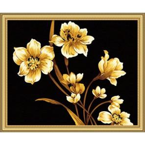 Золотой отблеск Раскраска по номерам акриловыми красками на холсте Hobbart