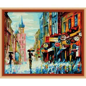 Весенний дождь Раскраска по номерам акриловыми красками на холсте Hobbart