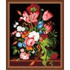 Букет для любимой Раскраска по номерам акриловыми красками на холсте Hobbart