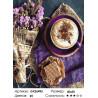 Количество цветов и сложность Капучино и цветы Раскраска картина по номерам на холсте GX26493