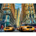 Такси Нью-Йорка Алмазная вышивка мозаика АЖ-1707
