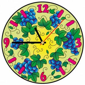 Виноград Набор для создания витражных часов Color Kit