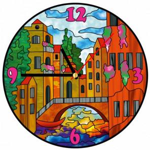Город Набор для создания витражных часов Color Kit