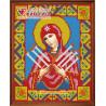 В рамке Икона Семистрельная Богородица Алмазная вышивка мозаика АЖ-2009
